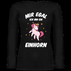 Ich hab dich schon verstanden nur egal Damen T-Shirt Einhorn Unicorn Fun Spruch