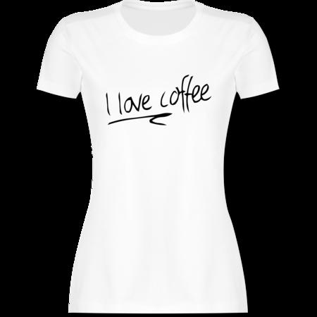 a107df2d7947e I love coffee - Schrift | Shirts & Mehr | Shirtracer