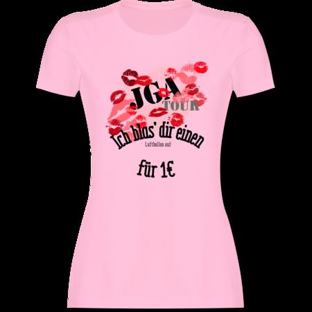 b0953e683c4e7 JGA Tour - Ich blas dir einen Luftballon auf  T-Shirt Rucksack ...