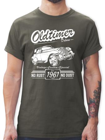 60 Geburtstag Oldtimer Baujahr 1959 Tshirt Turnbeutel Shirtracer