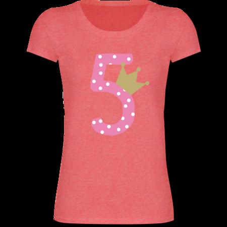 5 Geburtstag Krone Mädchen Shirts Mehr Shirtracer