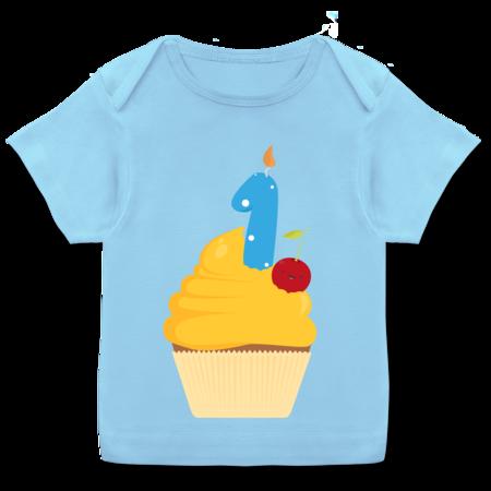 1 Geburtstag Cupcake Erster Shirts Mehr Shirtracer