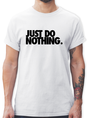 Just do nothing.