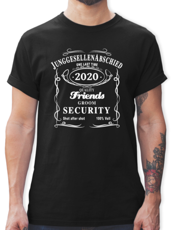 JGA Groom Security 2018 Lettering
