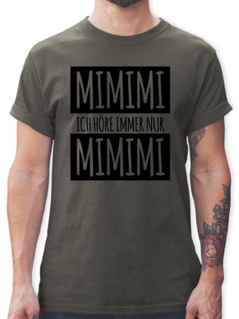 Ich Hore Immer Nur Mimimi Tshirt Rucksack Shirtracer