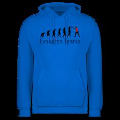 Männer Premium Kapuzenpullover. Tennis Evolution