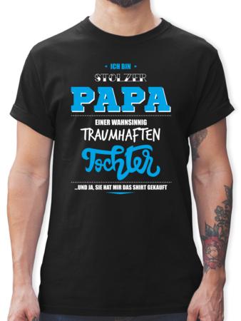 Home · Herren · Familie · Vatertag; Ich bin stolzer Papa einer wahnsinnig  traumhaften Tochter. front. front. front. front. Bräutigam Hipster Suit Up
