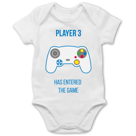Player 3 has entered the game Controller weiß