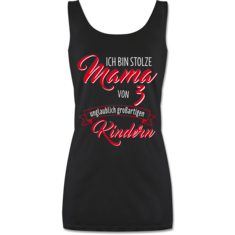 Damen Tank Top lang