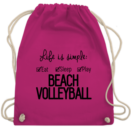 Life is simple Beachvolleyball