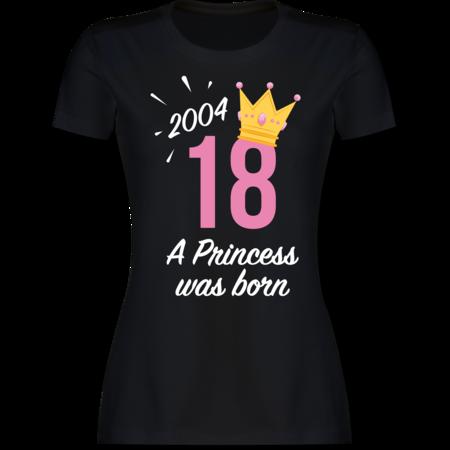 c5acb0124747a0 18 Geburtstag Mädchen Princess 2001  T-Shirt Rucksack