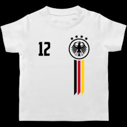 NR rot Portugal Kinder BABY Gr 56//62-68//74-80//86  T-Shirt Trikot NAME