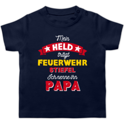 Shirtracer Vatertagsgeschenk Tochter /& Sohn Baby Baby Pullover Mein Papa ist Mein Held