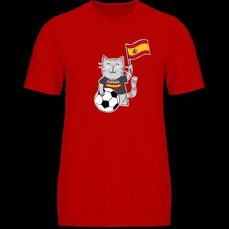 5cd21356330e Fußball Katze Spanien Tshirt Rucksack   Shirtracer