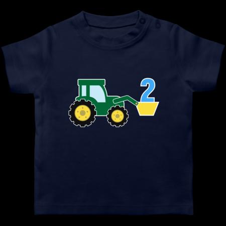 2 Geburtstag Traktor T Shirt Rucksack Shirtracer