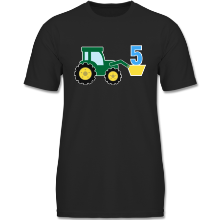 5 Geburtstag Traktor Shirts Mehr Shirtracer