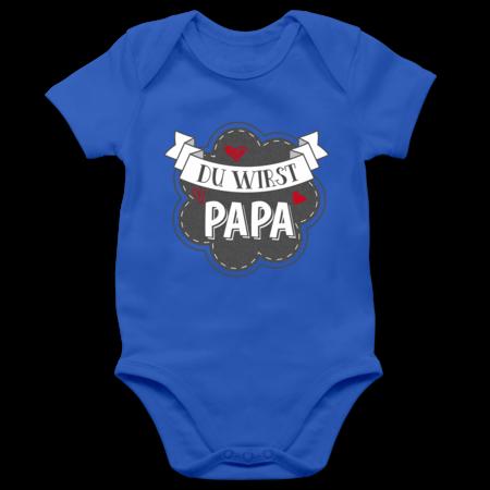 Baby Body Langarm Shirtracer Spr/üche Baby Du wirst Oma