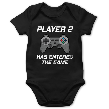 Player 2 has entered the game Controller grau