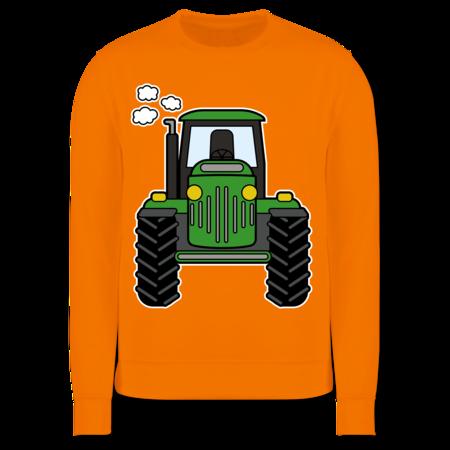 Rennwagen? Traktor! Fahrzeuge Kind Kinder Pullover Shirtracer