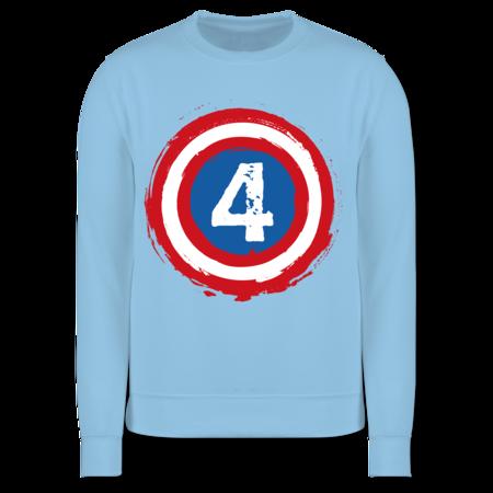 Shirtracer Geburtstag Kind Kinder Pullover Ich Bin 5 Superheld